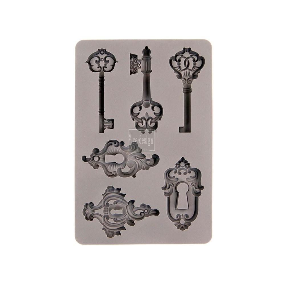 Silikonimuotti avaimet