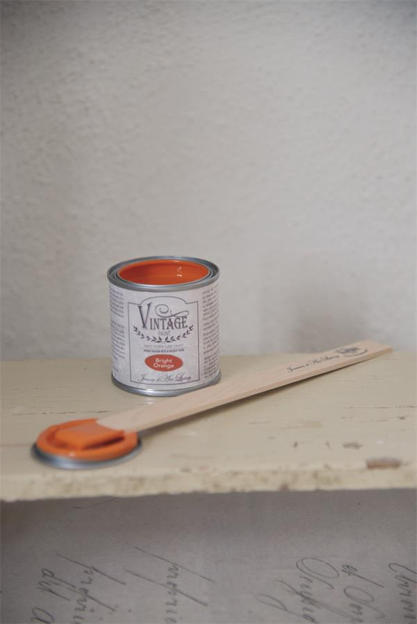 Vintage Paint Bright orange 100ml