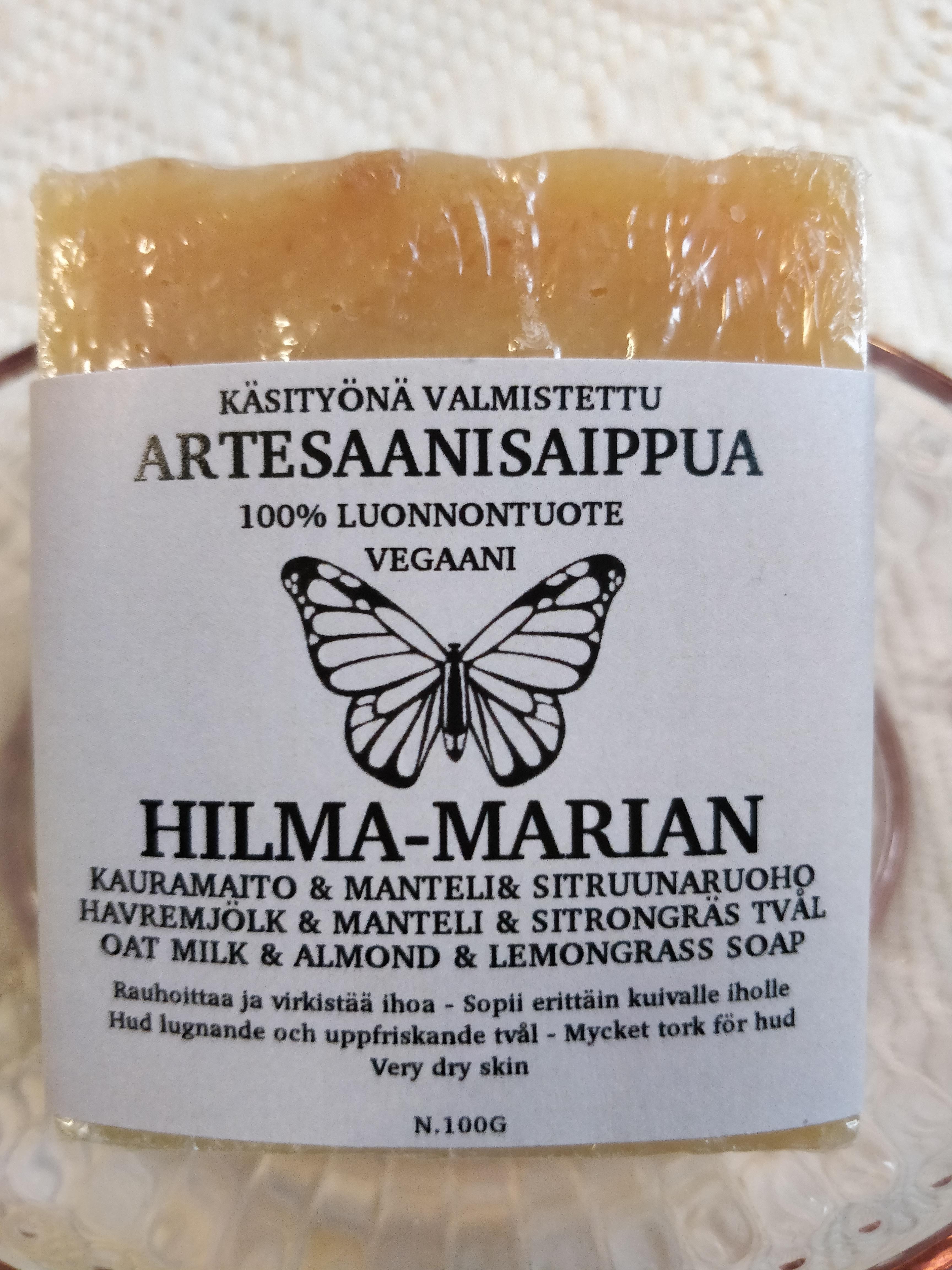 Artesaanisaippua Kaura