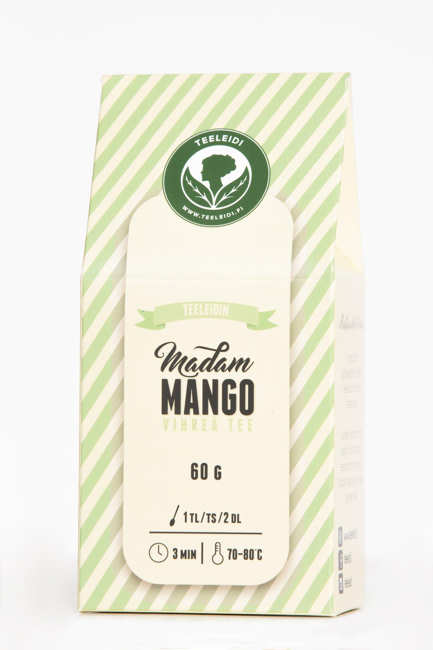 TL Madam Mango 60g vihreätee