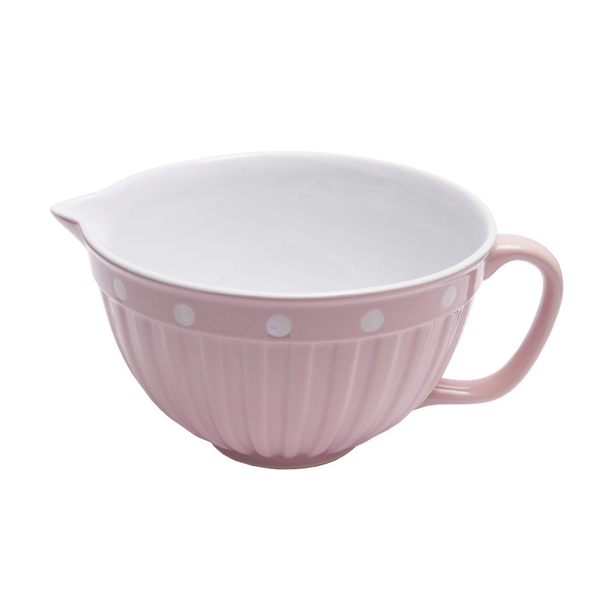 Leivontakulho vaaleanpunainen