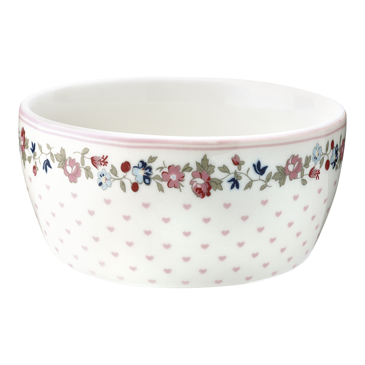 GG Ruby petit white kids bowl
