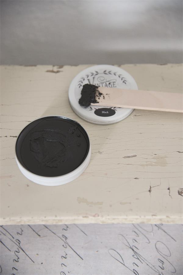 Vintage Paint Antique Wax 35gr black