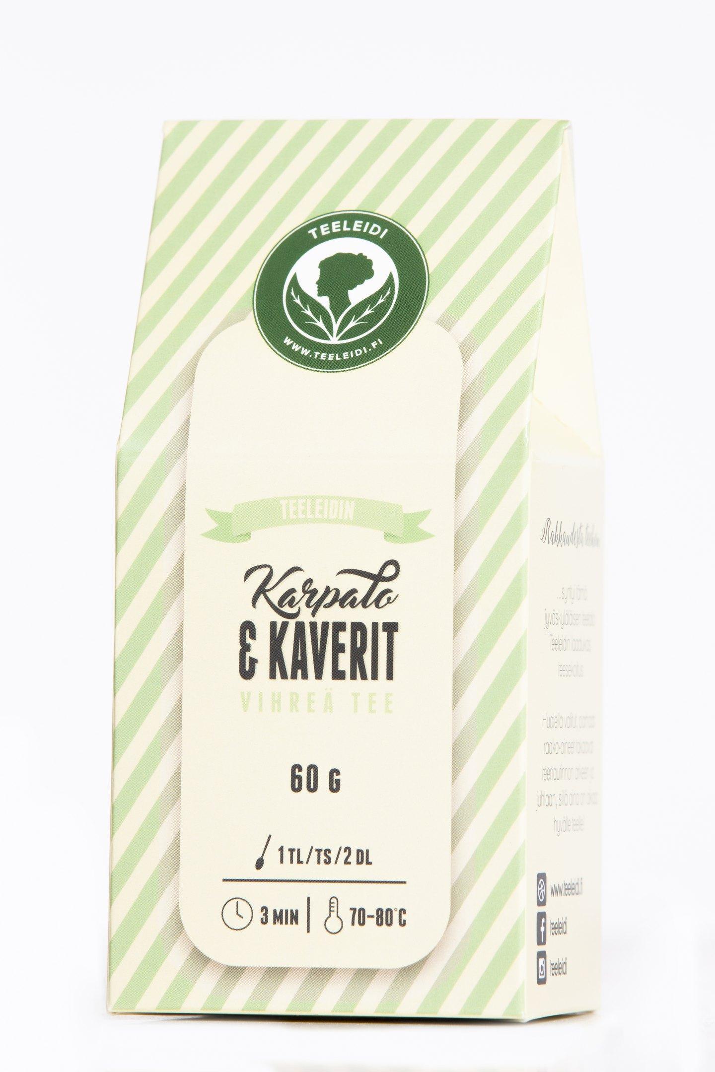 Karpalo & Kaverit vihreätee