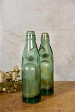 JDL Vanha lasipullo vihreä
