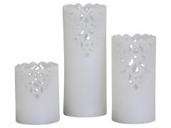 Led kynttilä valkoinen