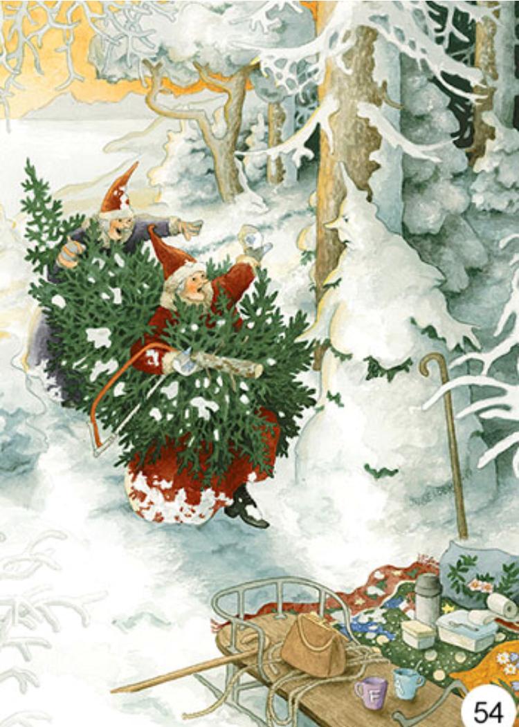 Joulukortti nro 54 Inge Löök