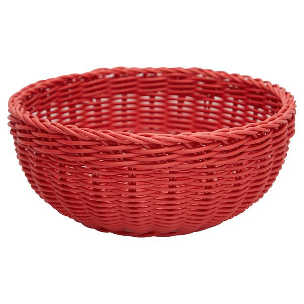 Leipäkori punainen