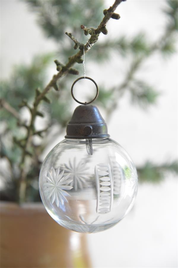 Jdl joulupallo kirkas lasi