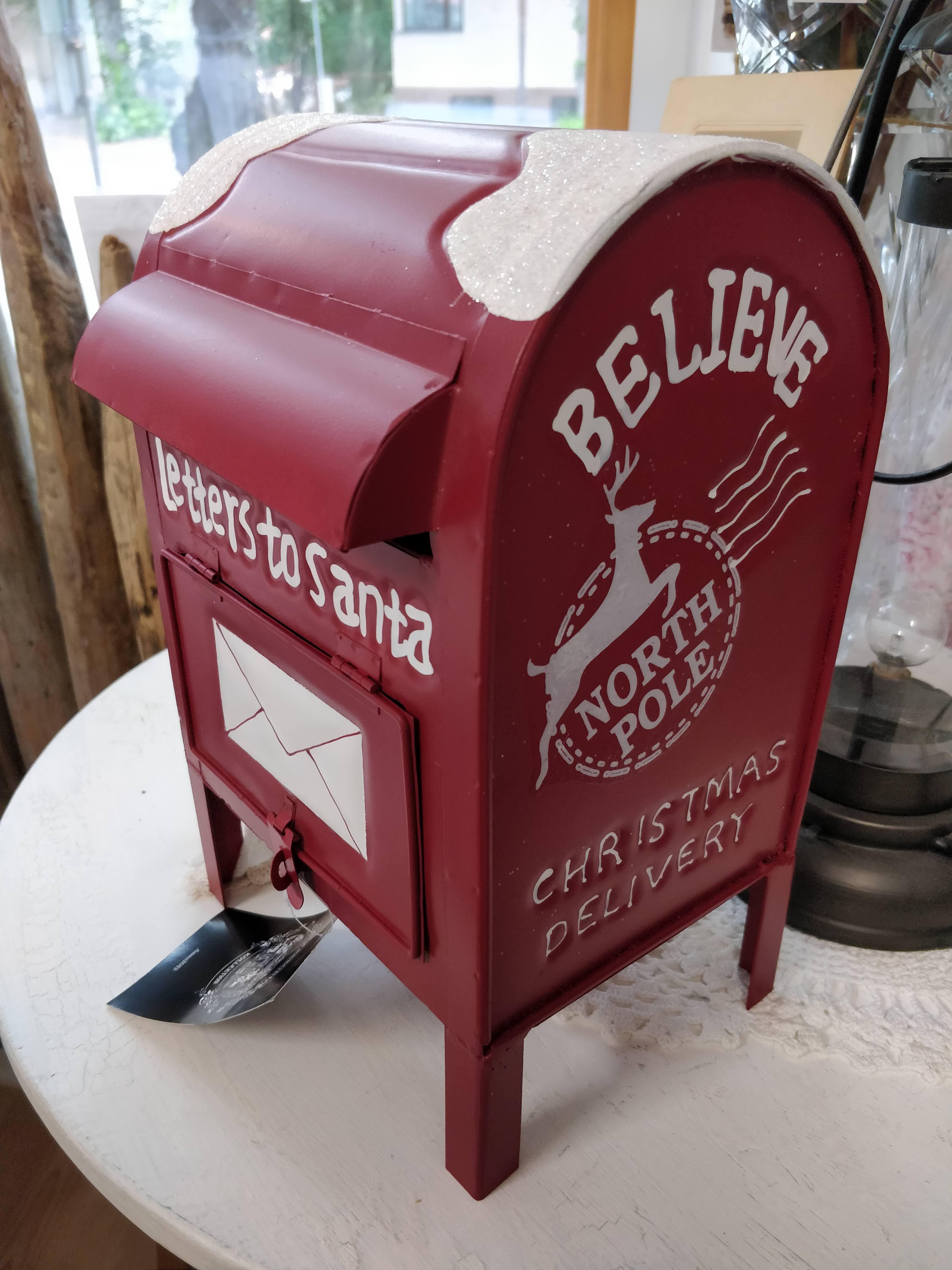 Postilaatikko Joulupukille