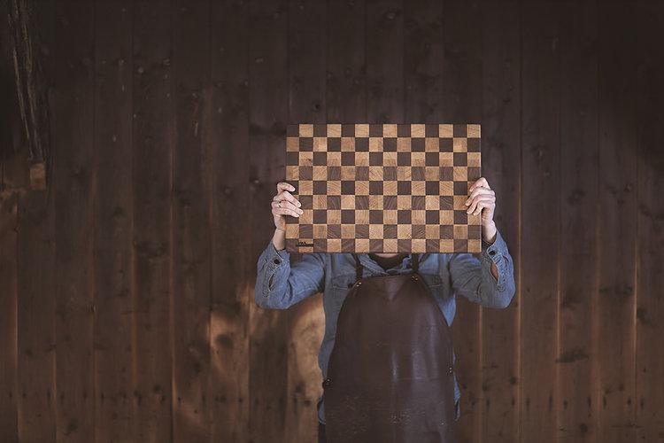 Skjærefjøl Sjakk - Vika Snekkerverksted