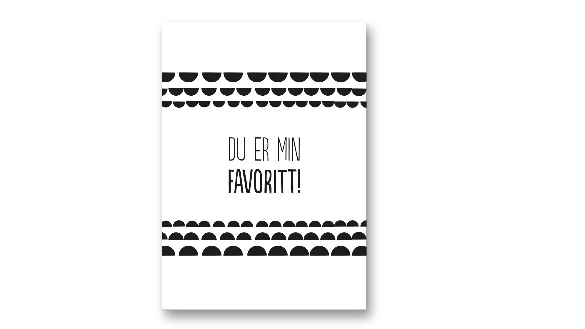 Designparken - Kort «Favoritt»