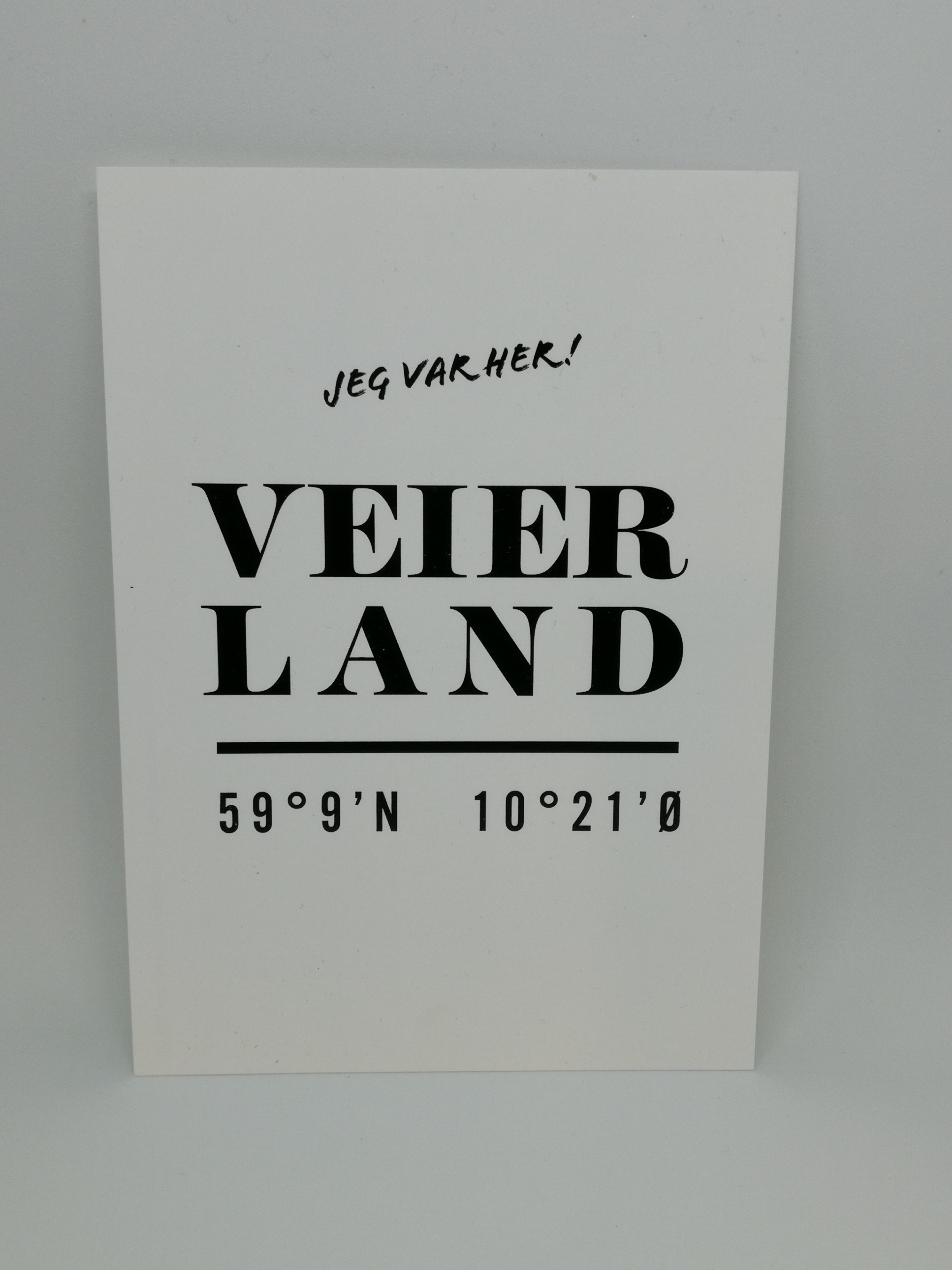 Designparken - Kort «Veierland»