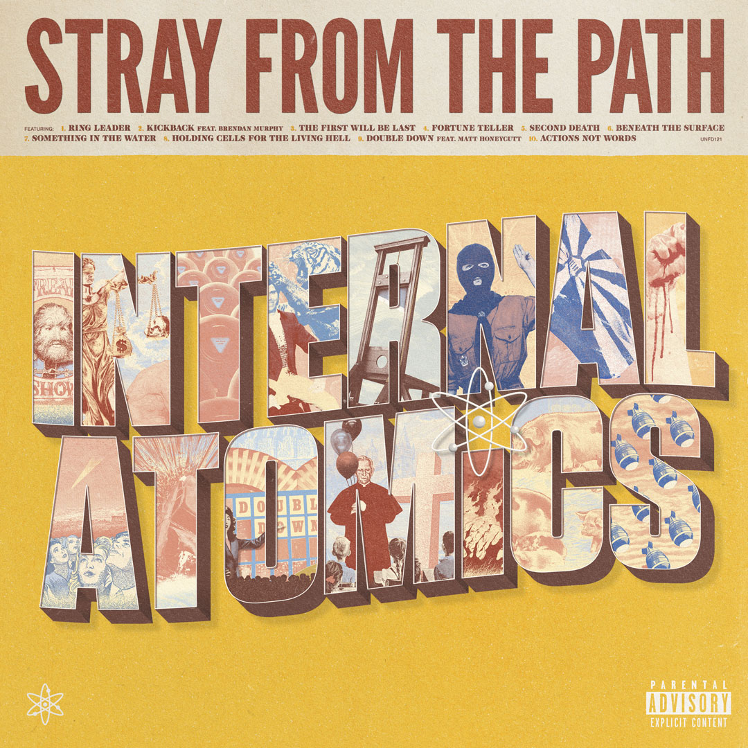 Stray From The Path - Internal Atomics LP