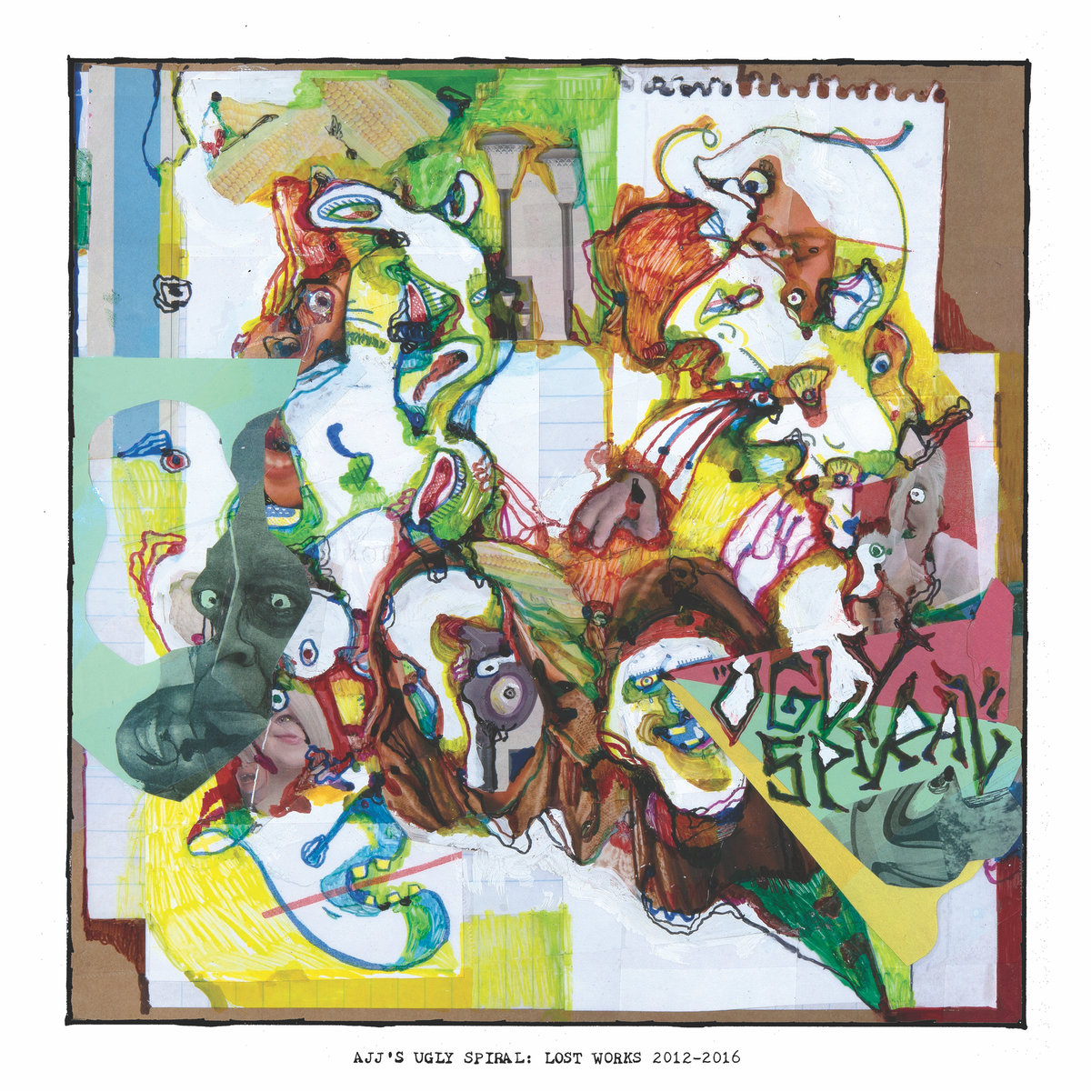 AJJ - Ugly Spiral: Lost Works 2012 - 2016 LP