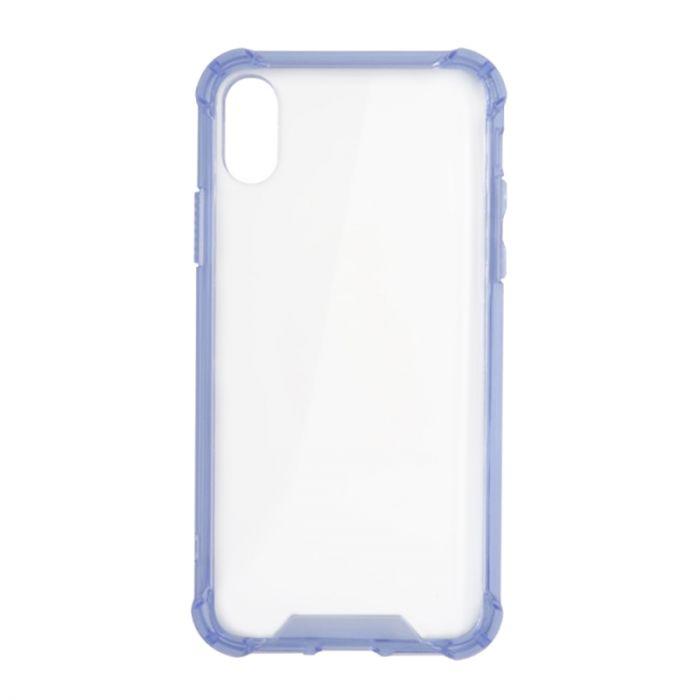 Bumper skal iphone X/XS Transparent blå