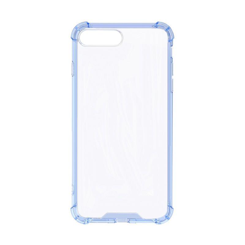 Bumper Iphone 7&8 Plus Transparent blå