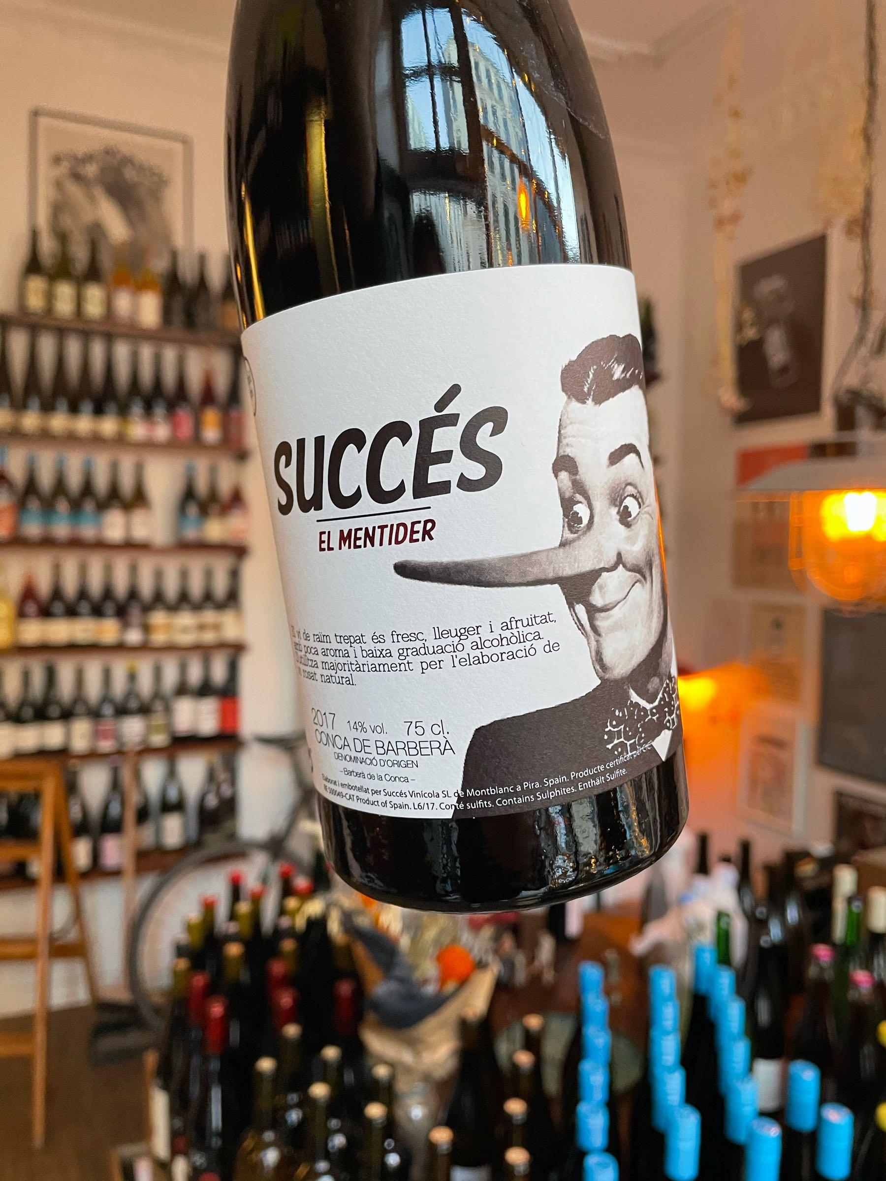 El Mentider - Succes vinicola