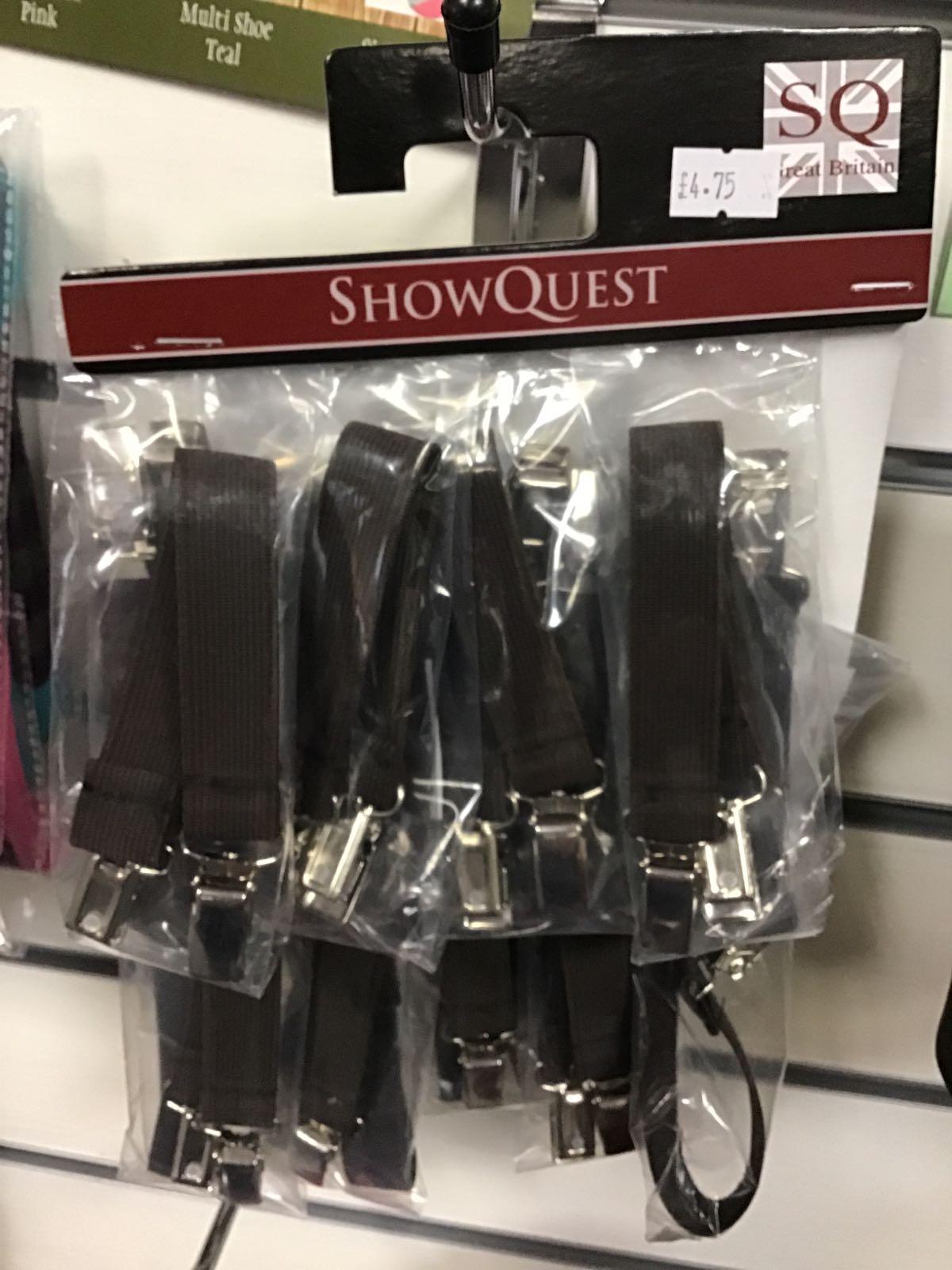 Showquest Jodphur Clips Brown