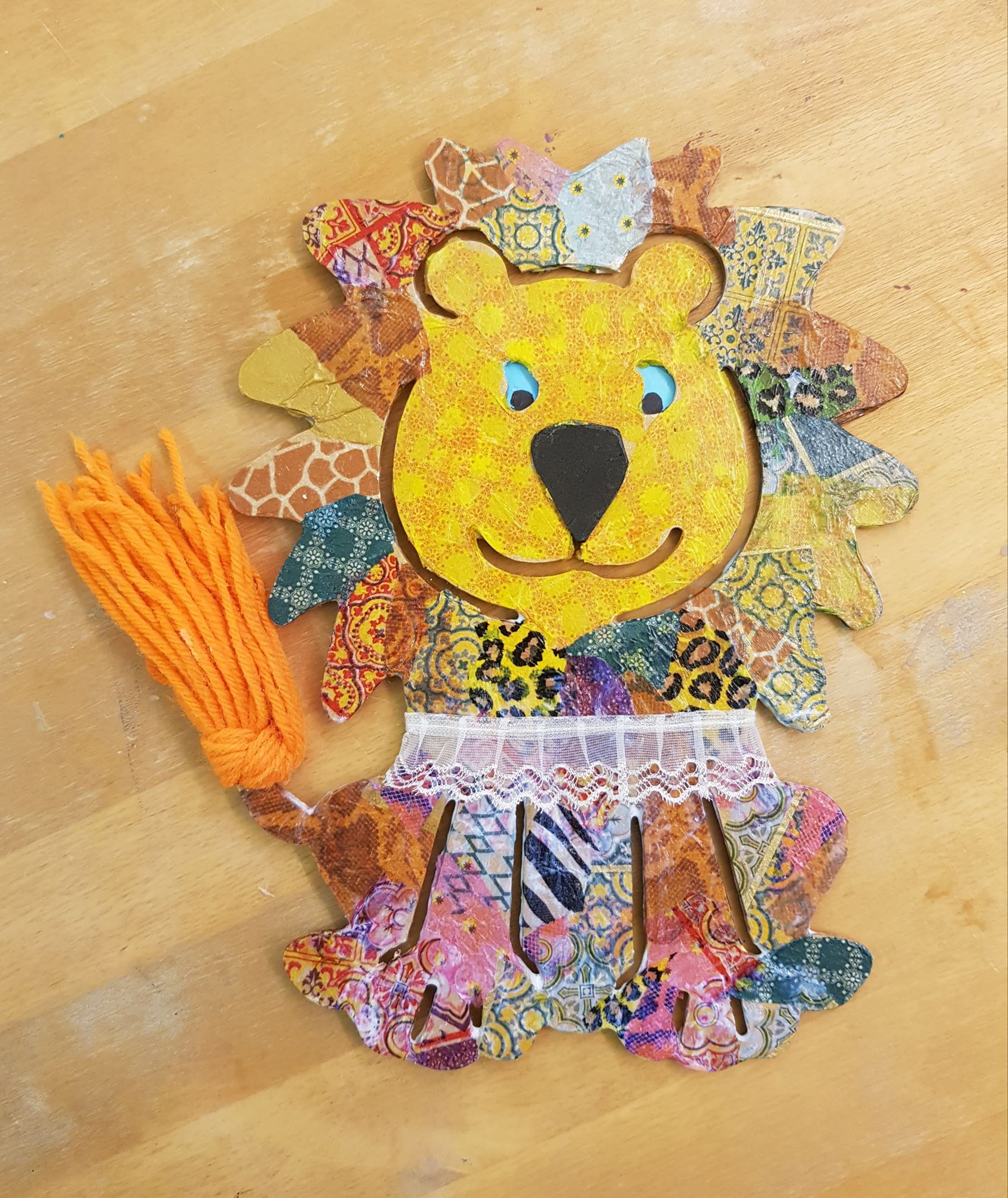 Decorate a Lion