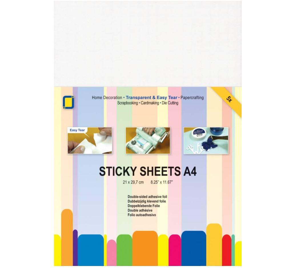 JEJE Produkt - Sticky sheets A4 5 sheets (3.3234)