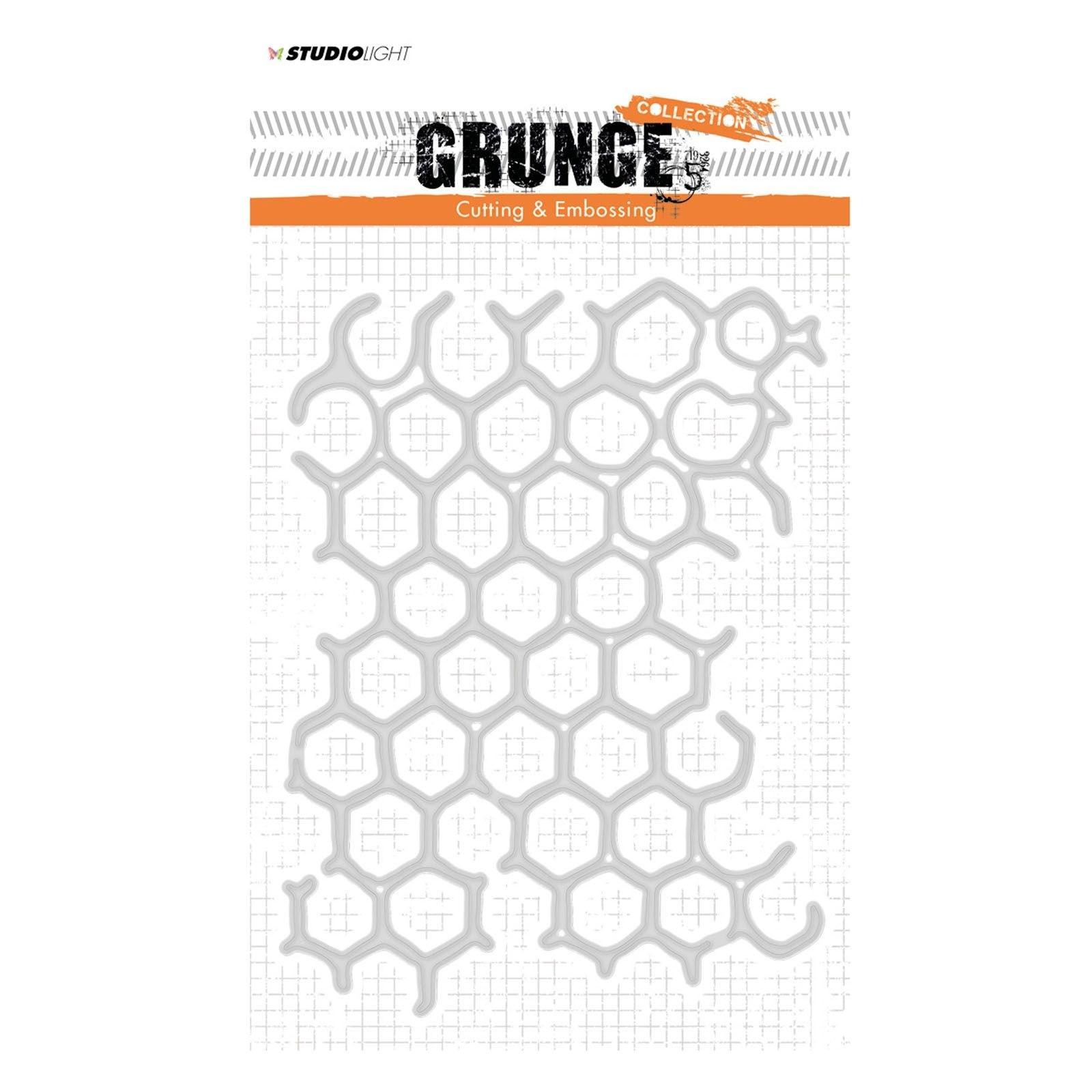 Studio Light - Grunge cutting & embossing die no. 149