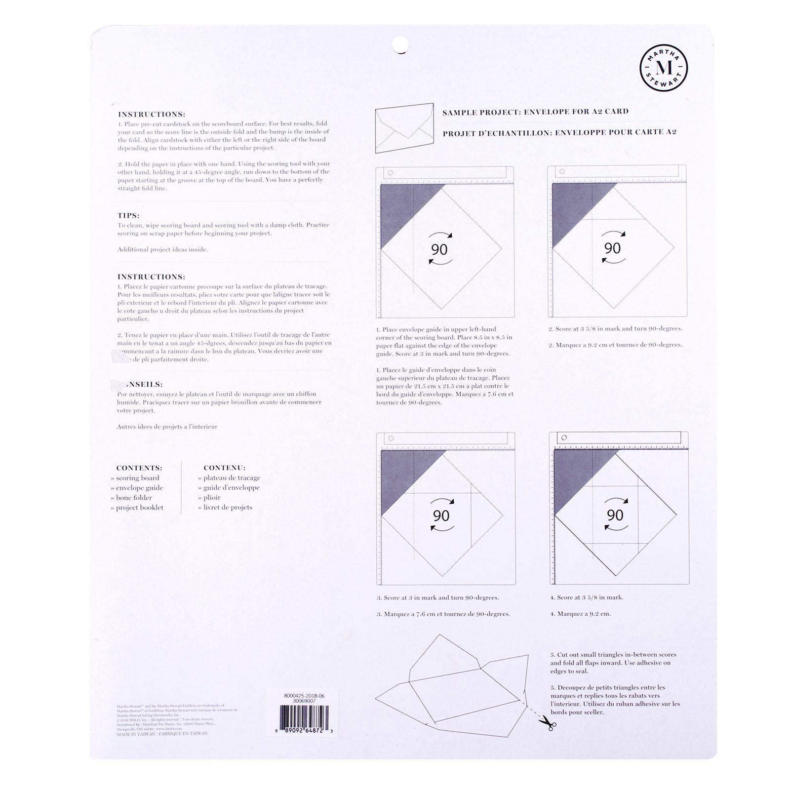 Martha Stewart - Scoring board 30,5x30,5cm