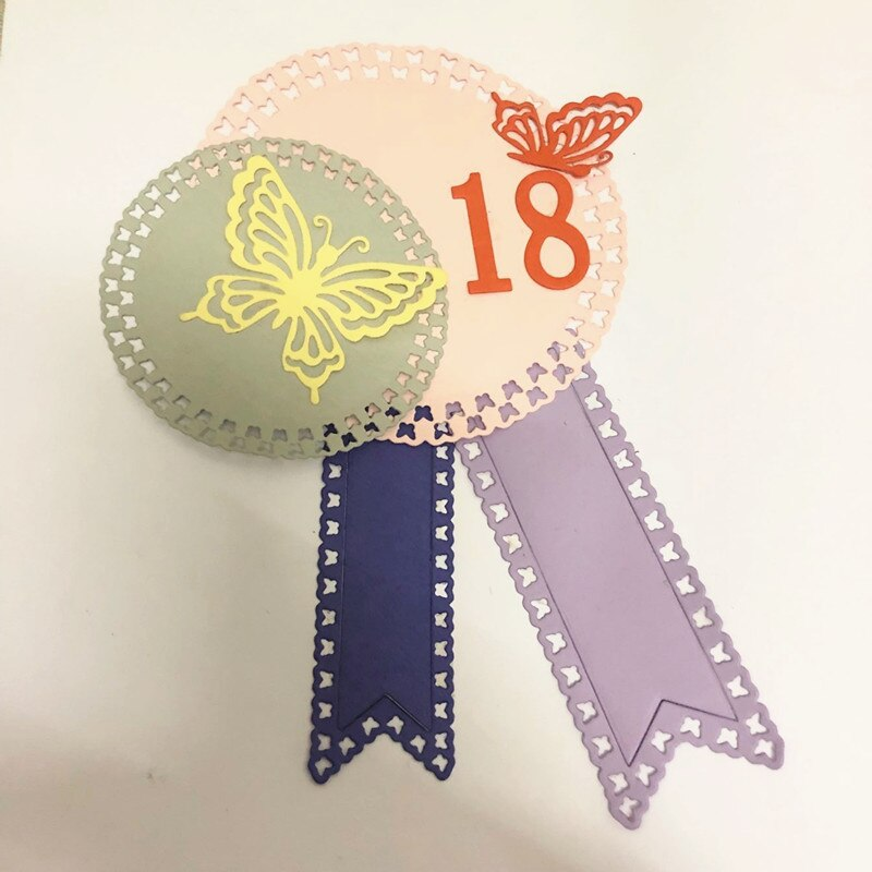 Nicole - Butterfly circle Metal Cutting Dies