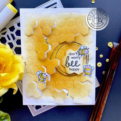 Hero Arts - Peek-A-Boo Honeycomb Fancy Die (DI863)