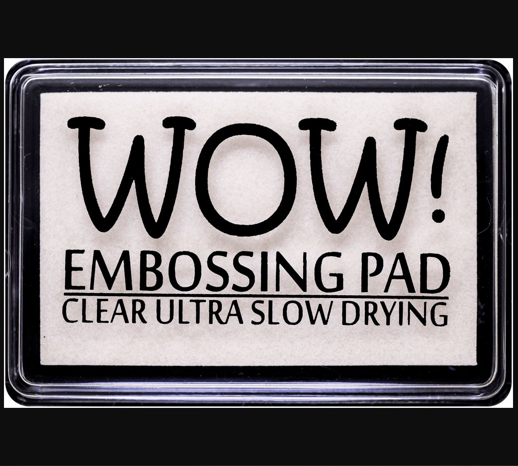 WOW Clear Ultra Slow Drying Embossing Pad