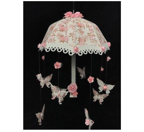 Nicole - 3D Umbrella with Butterfly Metal Cutting Dies