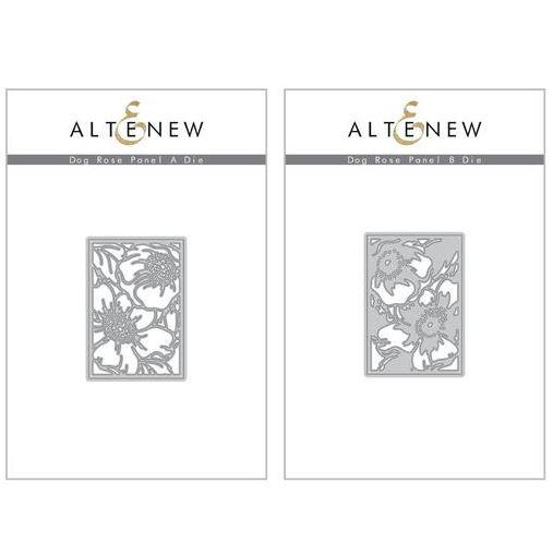 Altenew - Dog Rose Panel A & B Die (2 valg)