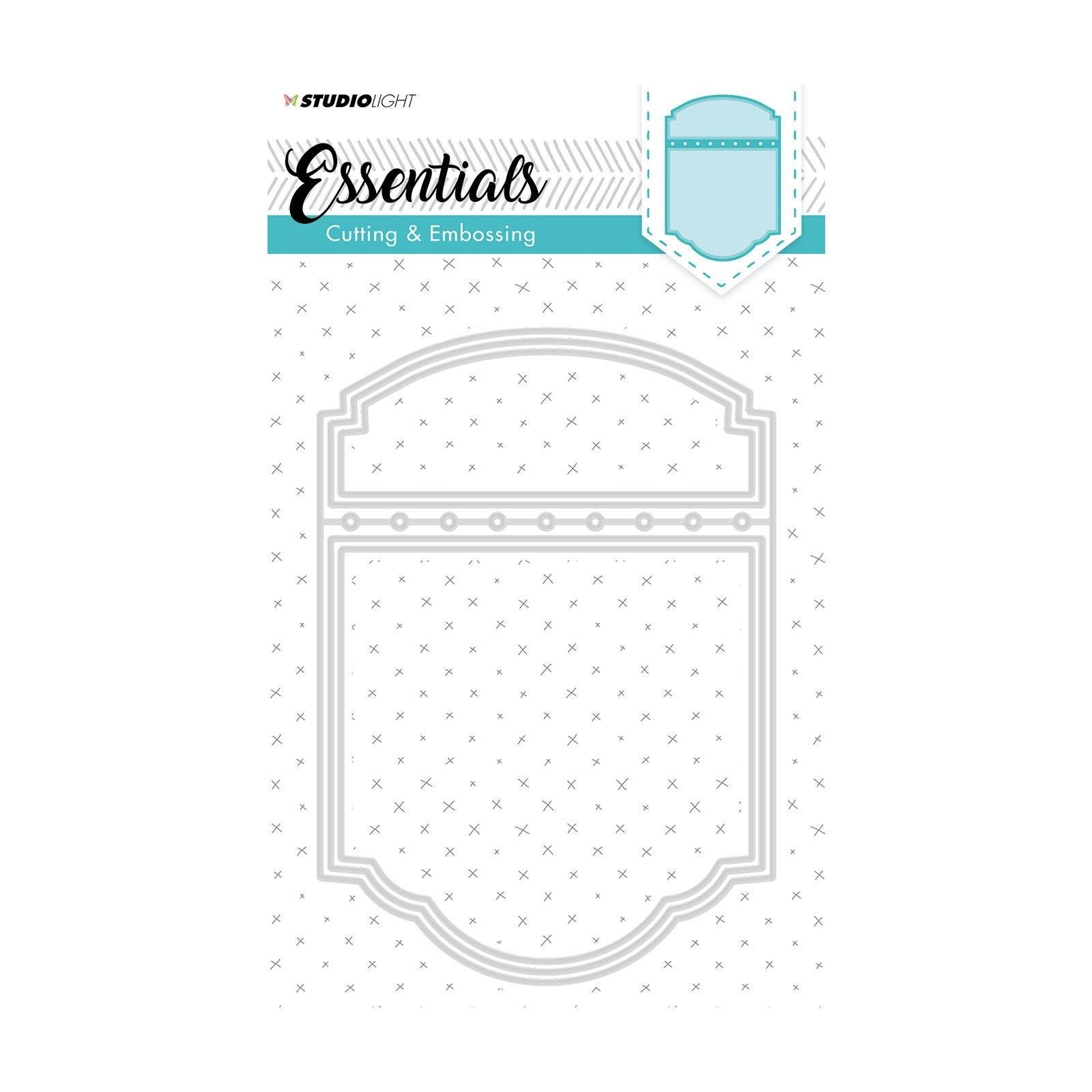 Studio Light - Essentials cutting & embossing die nr. 198