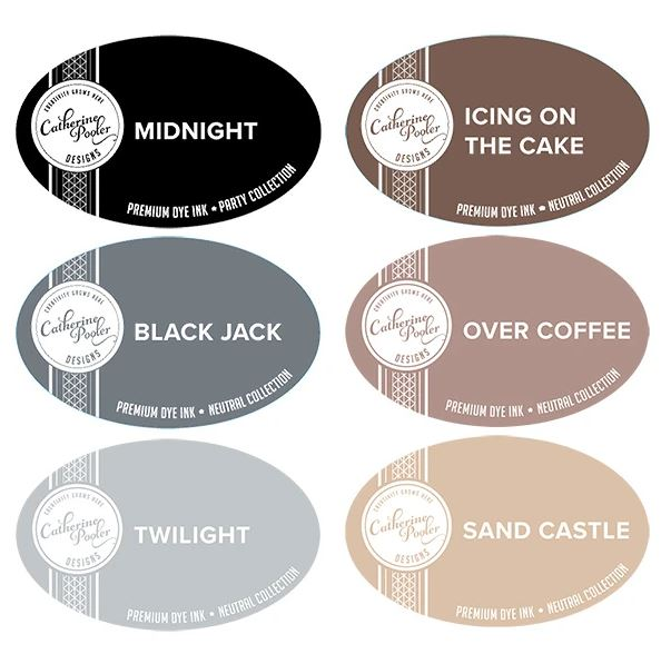 Catherine Pooler Ink - Neutrals Ink Collection