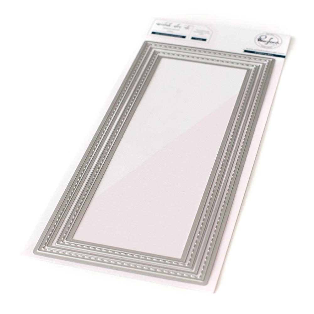 Pinkfresh Studio - Essentials: Slim stitched rectangle