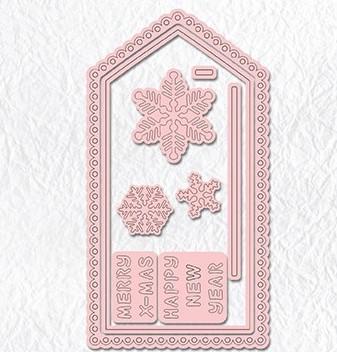 Nellie's Choice Dies - Magic Card Die Christmas card-1
