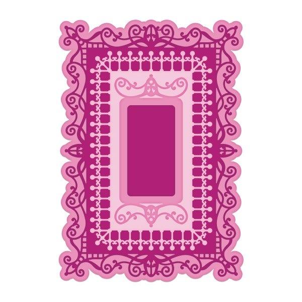 Heartfelt - Majestic Swirl Frames Die (HCD2-7308)