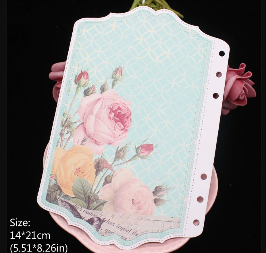 Nicole - Planner Decorative Frame Set Metal Cutting Dies