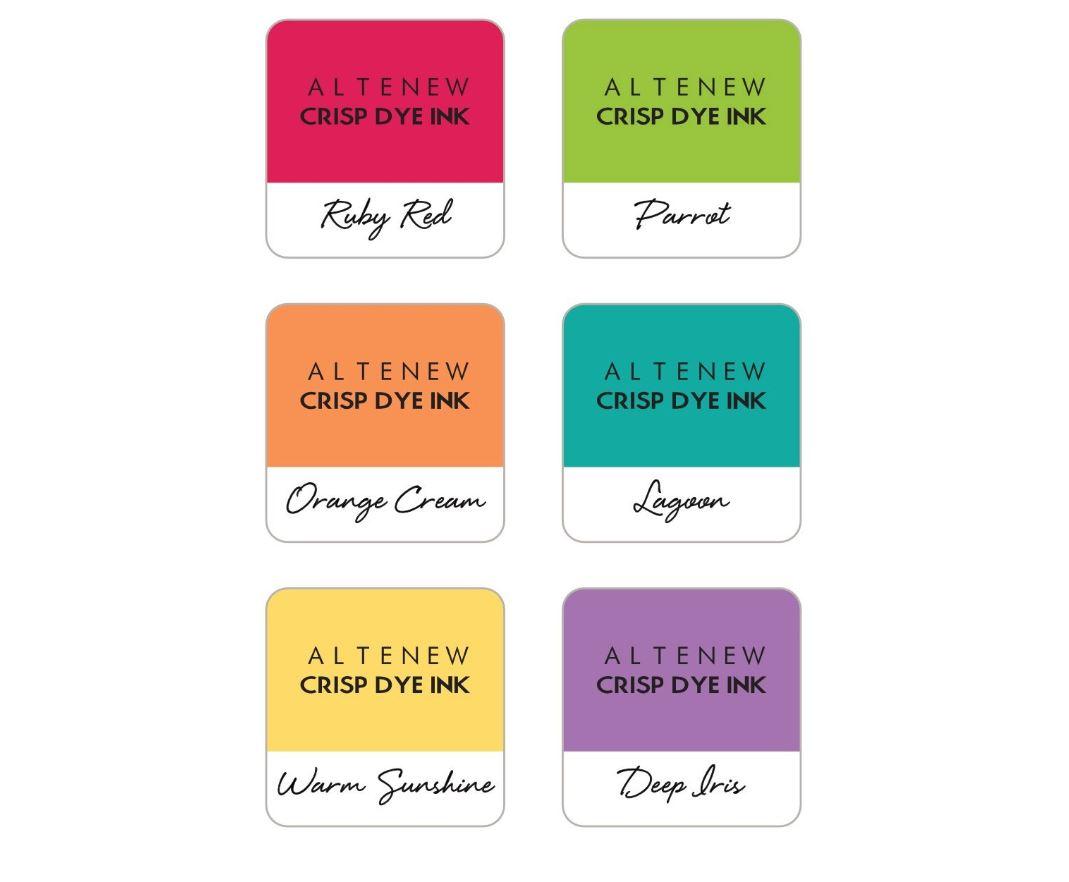 Altenew - Dye Ink Mini Cube 6 Set (flere valg)
