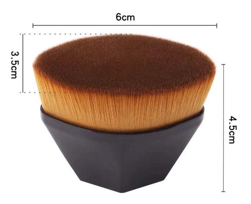 Flat Top Hexagon Brush (2 farger)