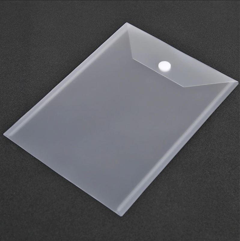 10 stk 18x24cm Clear Plastic Storage Bag for Dies & Stamp (Velcro)