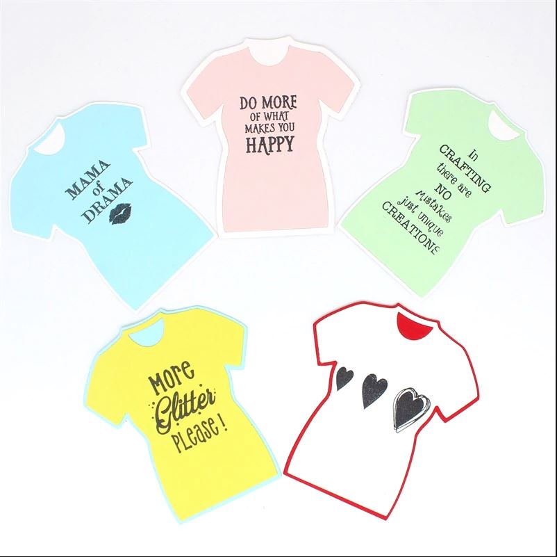 Nicole - T-Shirt Stamps or Metal Cutting Dies