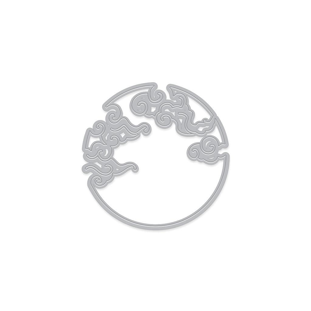 Hero Arts - Cloudy Moon Fancy Die (DI567)
