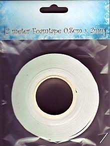 Nellie's Choice Foam tape 2mmx8mm