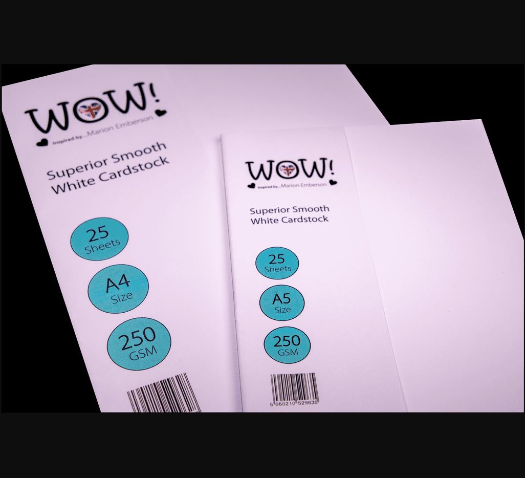 WOW! Superior Smooth White Cardstock - A4