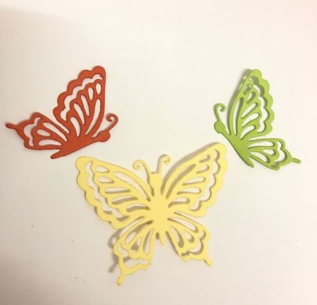Nicole - 3PCS butterfly Metal Cutting Dies