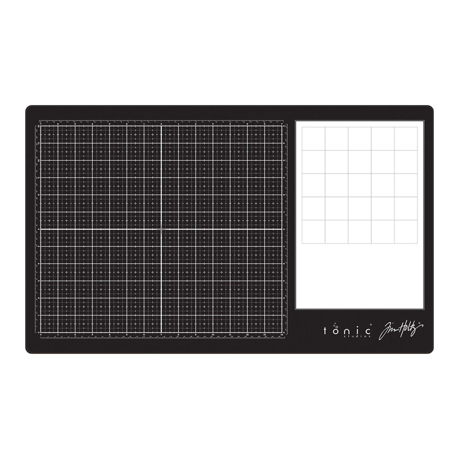 Tonic Studios - Tim Holtz glass media mat (right-handed)