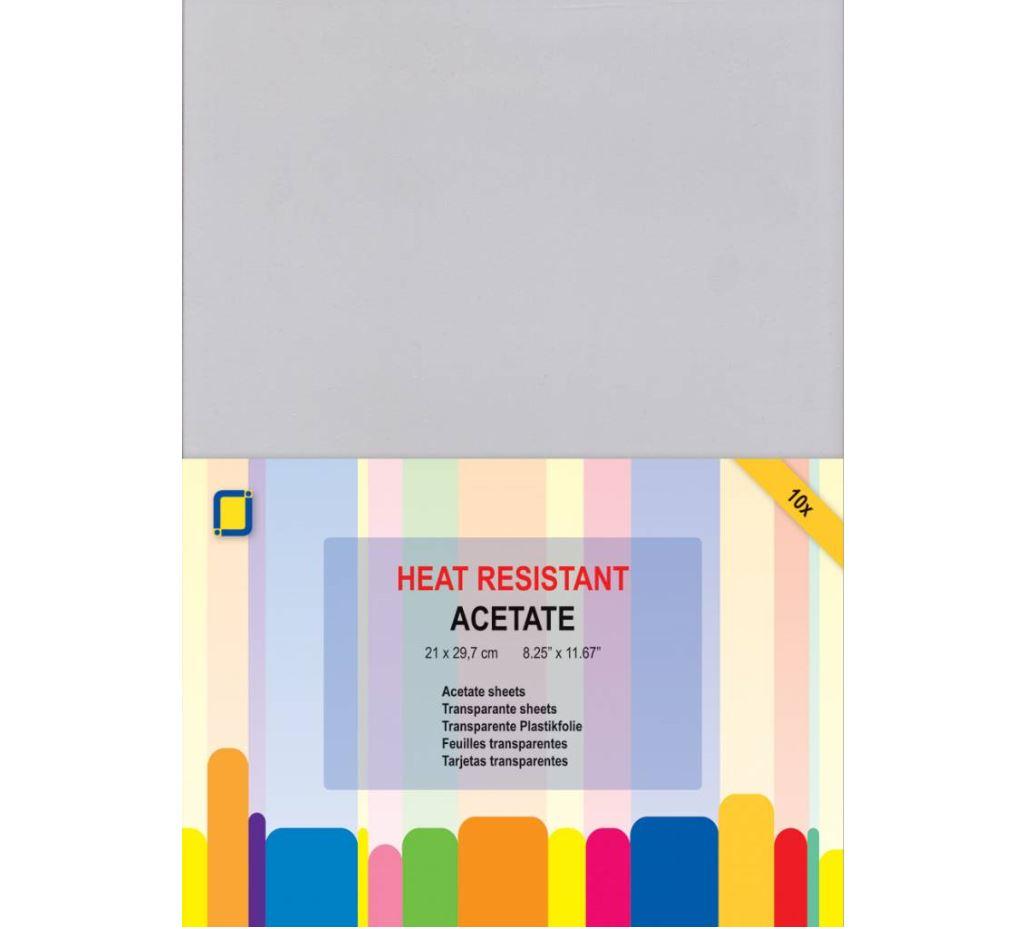 JEJE Produkt - 10 Acetate sheets heat resistant A4 (3.1030)