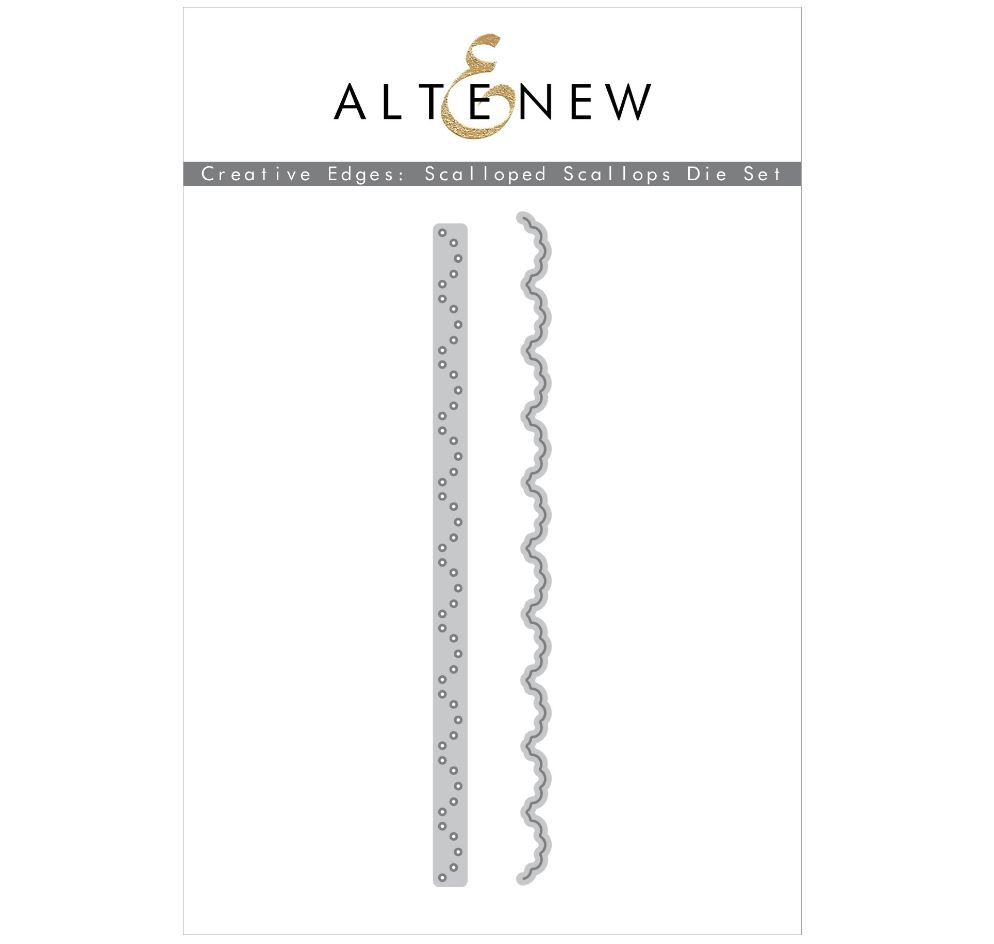 Altenew - Creative Edges: Scalloped Scallops Die Set