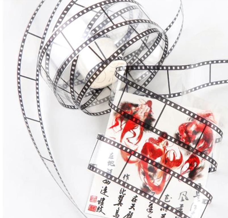Filmstrip PET Decorative Transparent tape